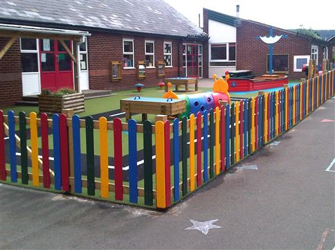 Metres of HDPE Bow Top Fencing